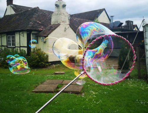 Telescopic Bubble Hoop