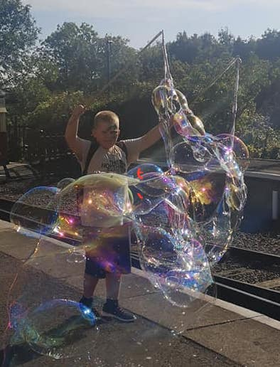 'Smiler' Double Bubble Wand